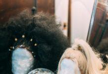 Główki treningowe dla osób uczących się fachu fryzjerskiego